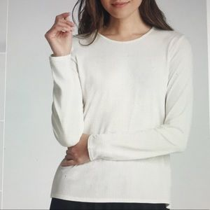 🛍Eileen Fisher Crew Neck Jersey Blouse🛍